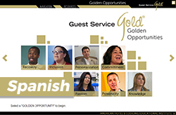 Guest Service Gold® Golden Opportunities Online Program and Certification (Spanish)