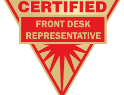 Certified Front Desk Representative (CFDR) Exam – BW