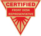 Certified Front Desk Representative (CFDR) Exam (Spanish) – BW