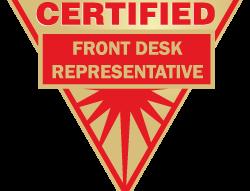 Certified Front Desk Representative (CFDR) Exam (Spanish) – BW