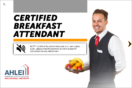 Certified Breakfast Attendant (CBA) Online Program