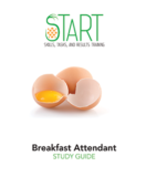 Certified Breakfast Attendant (CBA) START Study Guide