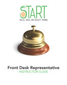 Certified Front Desk Representative (CFDR) START Instructor Guide