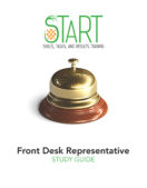 Certified Front Desk Representative (CFDR) START Study Guide