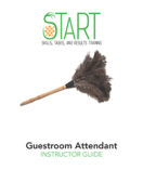 Certified Guestroom Attendant (CGA) START Instructor Guide