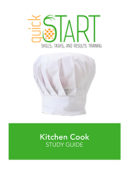 Certified Kitchen Cook (CKC) quickSTART Study Guide