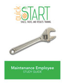 Certified Maintenance Employee (CME) quickSTART Study Guide