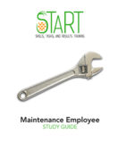 Certified Maintenance Employee (CME) START Study Guide
