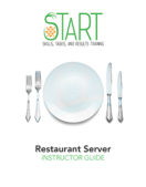 Certified Restaurant Server (CRS) START Instructor Guide