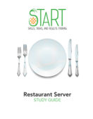 Certified Restaurant Server (CRS) START Study Guide
