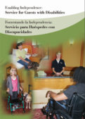 Enabling Independence – Service for Guests with Disabilities Learners Guide (Bilingual)