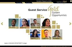Guest Service Gold® Golden Opportunities Online Program and Certification