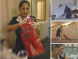 Housekeeping – Stay Safe Awareness Training (Spanish)