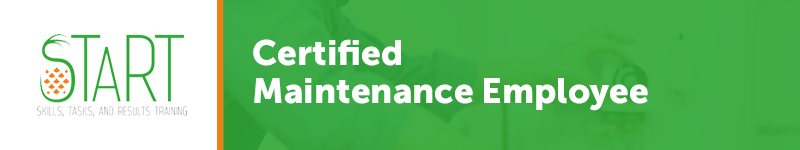 START Certified Maintenance Employee
