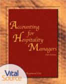 Accounting for Hospitality Managers – Exam