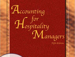 Accounting for Hospitality Managers, Fifth Edition eBook and Online Exam