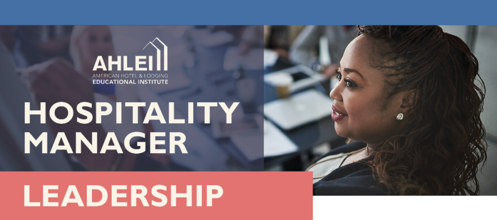 Hospitality Manager Leadership Header