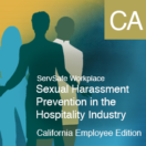 Sexual Harassment Prevention Hospitality Industry Employee, California