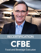Certified Food and Beverage Executive (CFBE) Recertification Fee