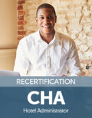Certified Hotel Administrator (CHA) Recertification Fee