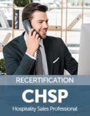 Certified Hospitality Sales Professional (CHSP) Recertification Fee