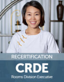 Certified Rooms Division Executive (CRDE) Recertification Fee