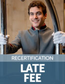 Recertification Late Fee